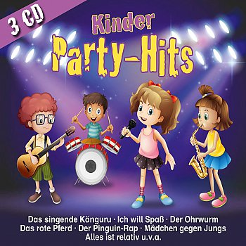 Produkt: Kinderlieder-Kinder Party-Hits (3er-Box)