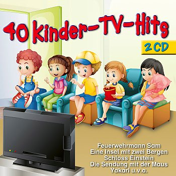 Produkt: Kinderlieder-40 Kinder TV-Hits