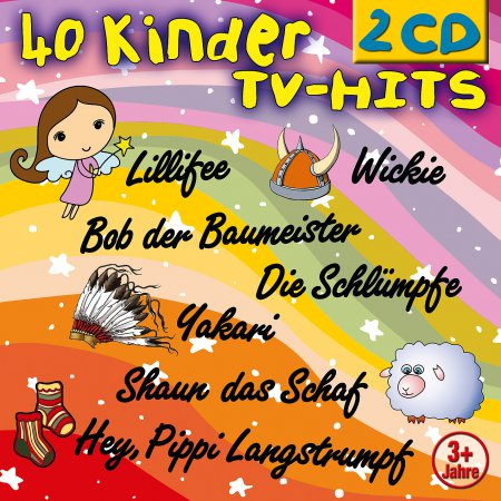 Produkt: 40 Kinder TV-Hits 2er Box